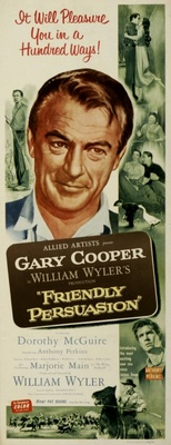 Friendly Persuasion movie poster (1956) poster MOV_7dd2b081