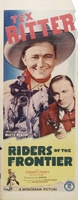 Riders of the Frontier movie poster (1939) picture MOV_7dd3baf2