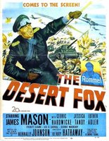The Desert Fox: The Story of Rommel movie poster (1951) picture MOV_7dfea3cd