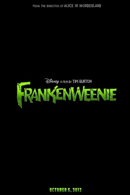 Frankenweenie movie poster (2012) poster MOV_7e05b12f