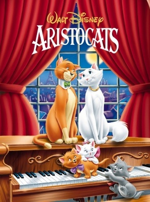 The Aristocats movie poster (1970) poster MOV_7e14451b
