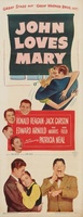 John Loves Mary movie poster (1949) picture MOV_7e280324