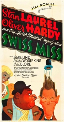Swiss Miss movie poster (1938) poster MOV_7e2cab9b