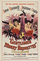 Gentlemen Marry Brunettes movie poster (1955) picture MOV_7e331bbb