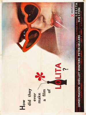 Lolita movie poster (1962) poster MOV_7e33c009