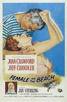 Female on the Beach movie poster (1955) picture MOV_7e48ec1d