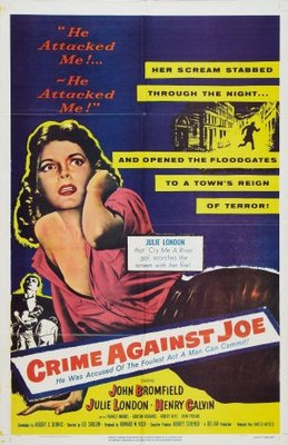 Crime Against Joe movie poster (1956) poster MOV_7e81990a