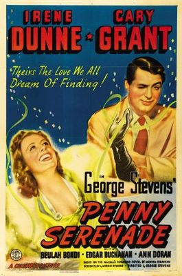 Penny Serenade movie poster (1941) poster MOV_7ea4b7de