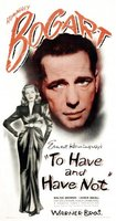 To Have and Have Not movie poster (1944) picture MOV_7ea8ba97