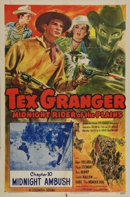 Tex Granger, Midnight Rider of the Plains movie poster (1948) poster MOV_7eb4e807