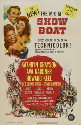 Show Boat movie poster (1951) poster MOV_7eb9f395
