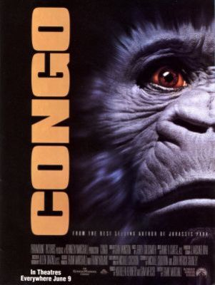 Congo movie poster (1995) poster MOV_7ebdcbf1