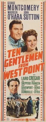 Ten Gentlemen from West Point movie poster (1942) poster MOV_7ec4c159