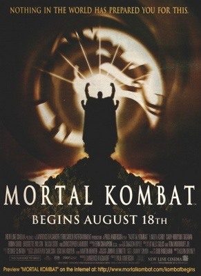 Mortal Kombat movie poster (1995) poster MOV_7ec8d3f2