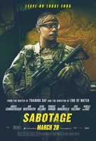 Sabotage movie poster (2014) picture MOV_7ed5f7a3