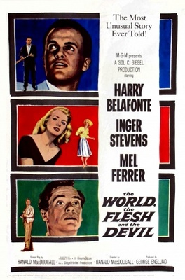 The World, the Flesh and the Devil movie poster (1959) poster MOV_7ed8c096