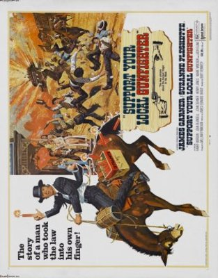 Support Your Local Gunfighter movie poster (1971) poster MOV_7efa4f05