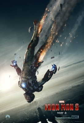 Iron Man 3 movie poster (2013) poster MOV_7efd1190