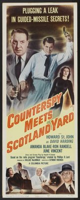 Counterspy Meets Scotland Yard movie poster (1950) poster MOV_7f019feb