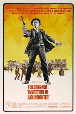 Invitation to a Gunfighter movie poster (1964) poster MOV_7f0874c5