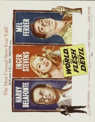 The World, the Flesh and the Devil movie poster (1959) poster MOV_7f0f1d4f