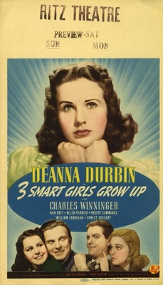 Three Smart Girls Grow Up movie poster (1939) poster MOV_7f19c885