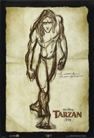 Tarzan movie poster (1999) picture MOV_7f296368