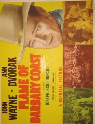 Flame of Barbary Coast movie poster (1945) poster MOV_7f35f97d