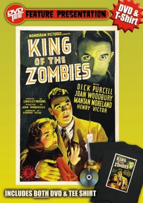 King of the Zombies movie poster (1941) poster MOV_7f3bd4e5