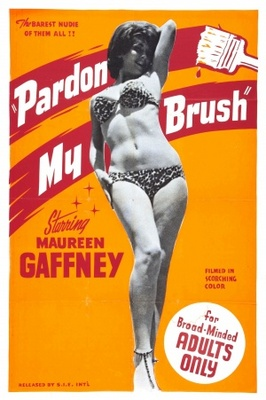 Pardon My Brush movie poster (1964) poster MOV_7f5054fa