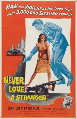 Never Love a Stranger movie poster (1958) poster MOV_7f596606