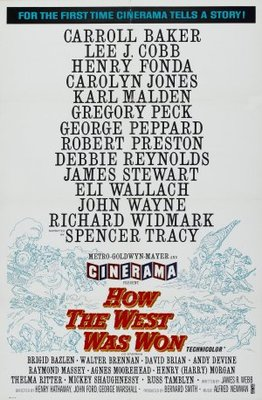 How the West Was Won movie poster (1962) poster MOV_7f5ca116