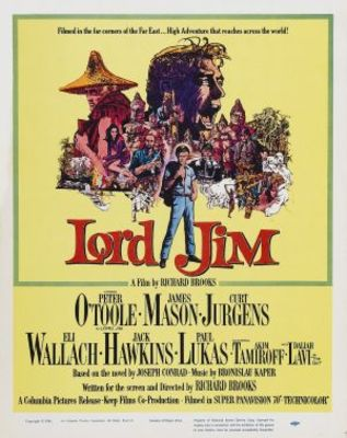 Lord Jim movie poster (1965) poster MOV_7f5cbc19