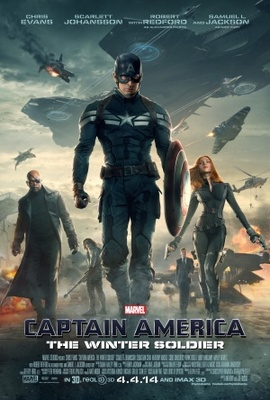 Captain America: The Winter Soldier movie poster (2014) poster MOV_7f759634