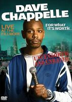 Dave Chappelle: For What It's Worth movie poster (2004) picture MOV_7f9317c2