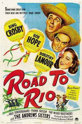 Road to Rio movie poster (1947) poster MOV_7f9faec8