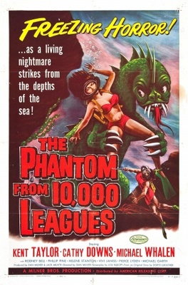 The Phantom from 10,000 Leagues movie poster (1955) poster MOV_7fafe183