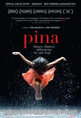 Pina movie poster (2011) poster MOV_7fb674d8