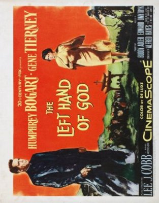 The Left Hand of God movie poster (1955) poster MOV_7fcd8a2b