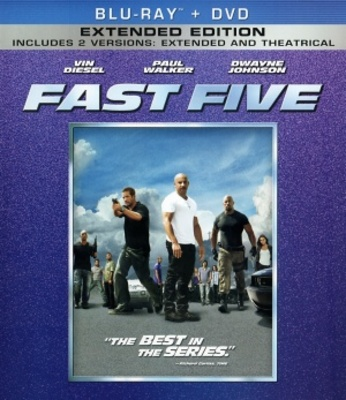 Fast Five movie poster (2011) poster MOV_7fcf2ec5