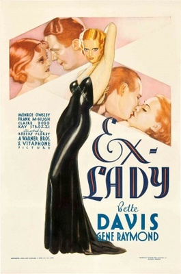 Ex-Lady movie poster (1933) poster MOV_7fd108b5