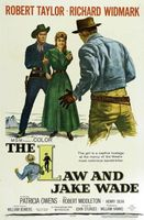 The Law and Jake Wade movie poster (1958) picture MOV_7fe245b9