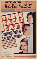 Three Faces East movie poster (1930) picture MOV_7ff048bf