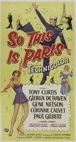 So This Is Paris movie poster (1955) picture MOV_800d6021