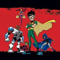 Teen Titans movie poster (2003) picture MOV_801ddf11