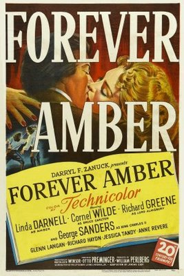 Forever Amber movie poster (1947) poster MOV_801f9af3