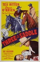 Three in the Saddle movie poster (1945) picture MOV_8032e7f6