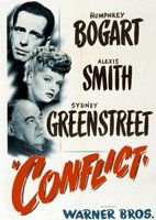 Conflict movie poster (1945) picture MOV_80389594