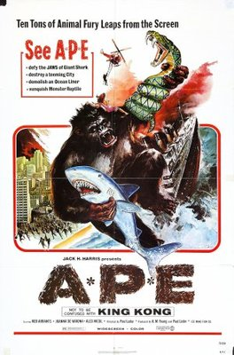 Ape movie poster (1976) poster MOV_8061d34a