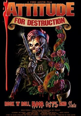 Attitude for Destruction movie poster (2008) poster MOV_806d0913